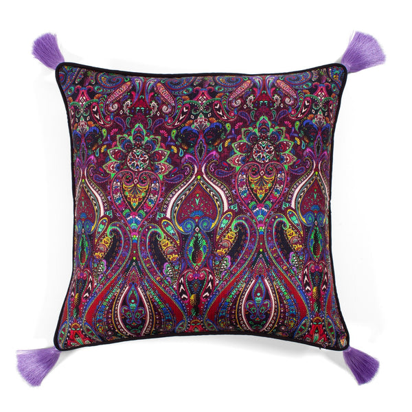 Paisley Silk Pillow by Matthew Williamson | Les Ottomans
