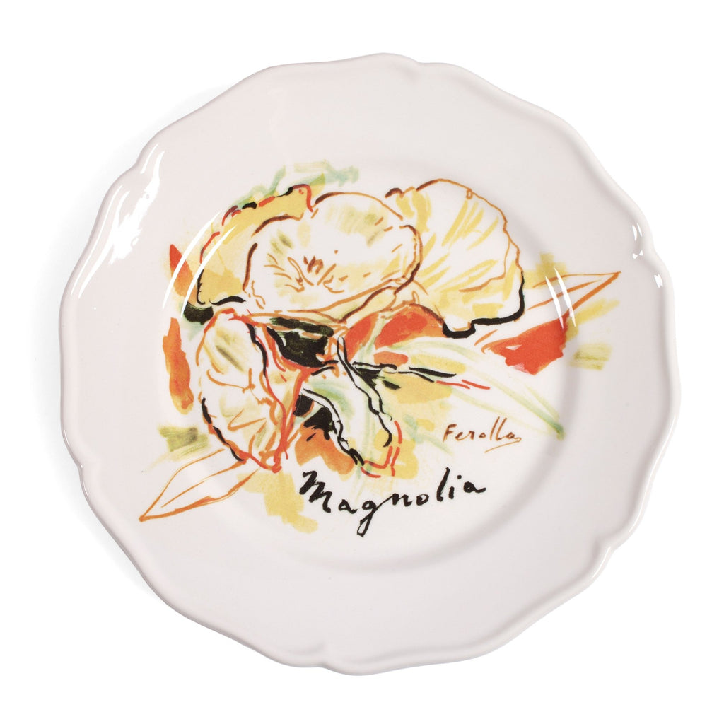 Bosphorus Suite Porcelain plate collection by Chez Dede