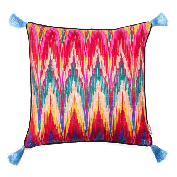 Kaleidoscope Silk Cushion by Matthew Williamson | Les ottomans