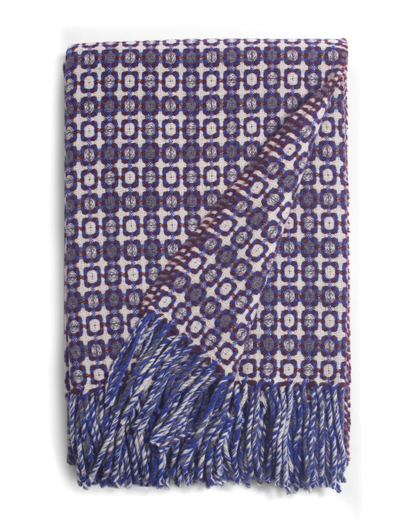 Blue Vintage Throw by Burel Portugal
