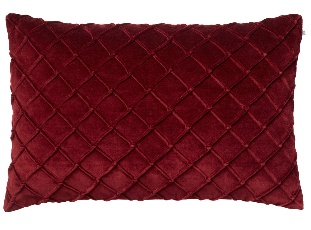 Chhatwal & Jonsson | Deva velvet cushion ruby red