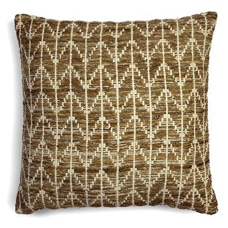 Broxton ZigZag cushion brown | JF Reborn