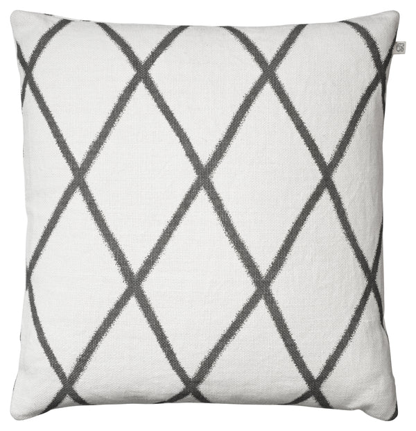 Orissa Linen Cushion - Grey