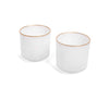 Alabaster Tealight/Planter (Set of 2)