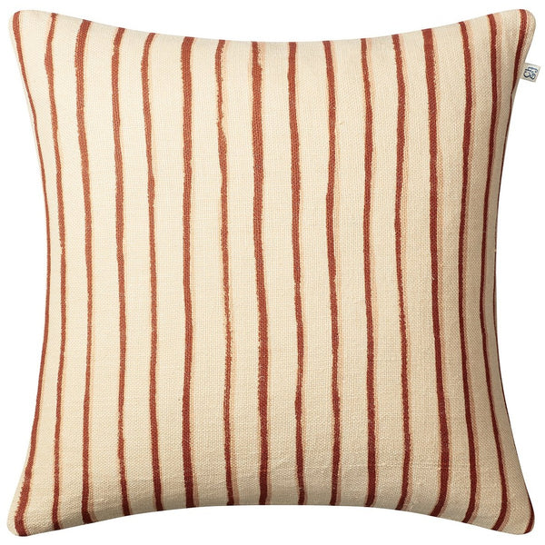 Jaipur Stripe Linen - Lt.Beige/Orange