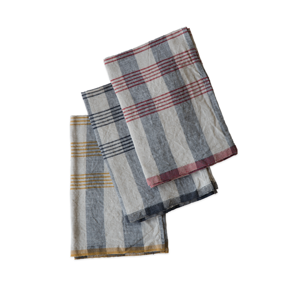 Linen Tea Towel - Aviron