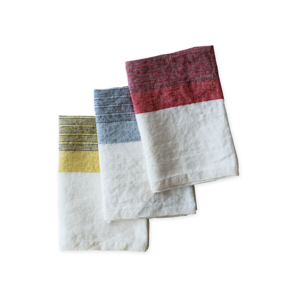 Linen Tea Towel - Rhone
