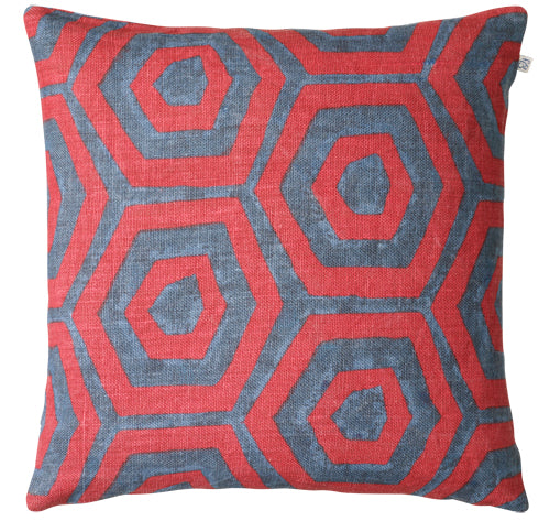 Chhatwal & Jonsson | Linen Lakshmi Cushion Red