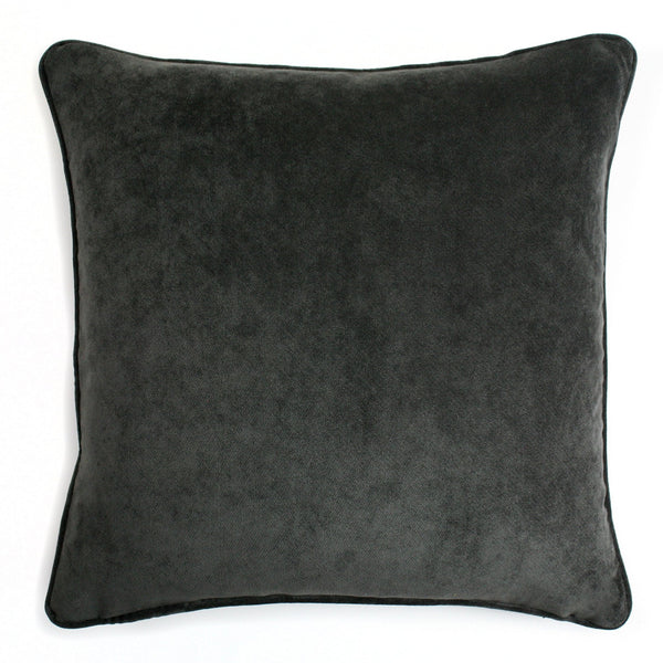 Velvet Pillow Charcoal Grey | LO Decor