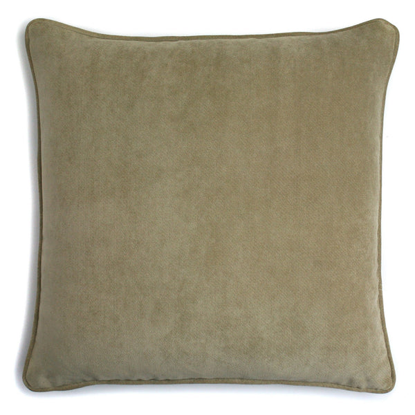 Velvet Cushion Cappucino | LO Decor