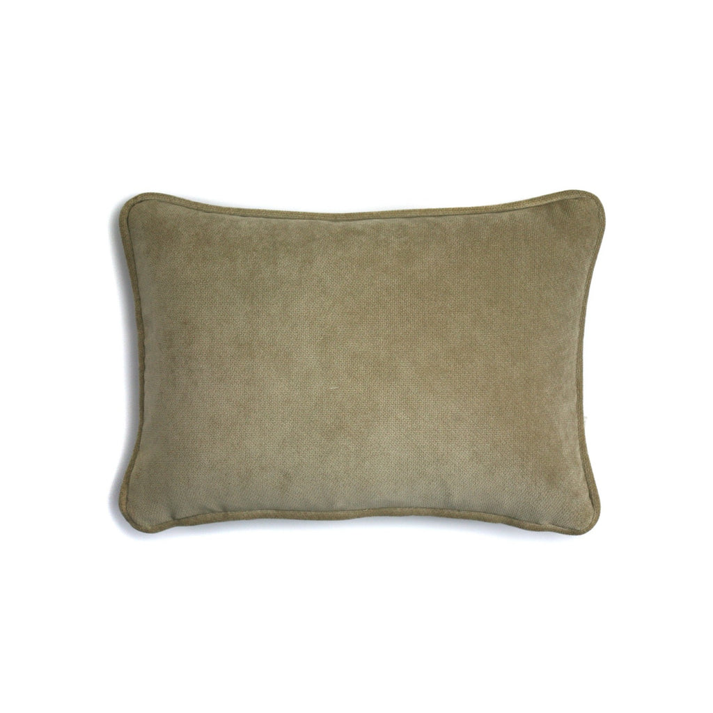 Velvet Cushion Cappuccino | LO Decor