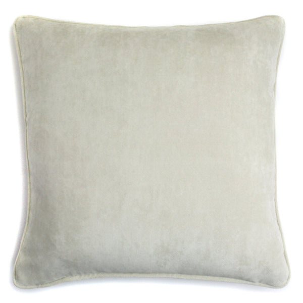 Velvet Pillow Creme | LO Decor