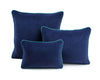 Bright Navy Velvet Cushion | LO Decor