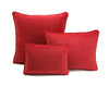 Velvet Cushion - Red