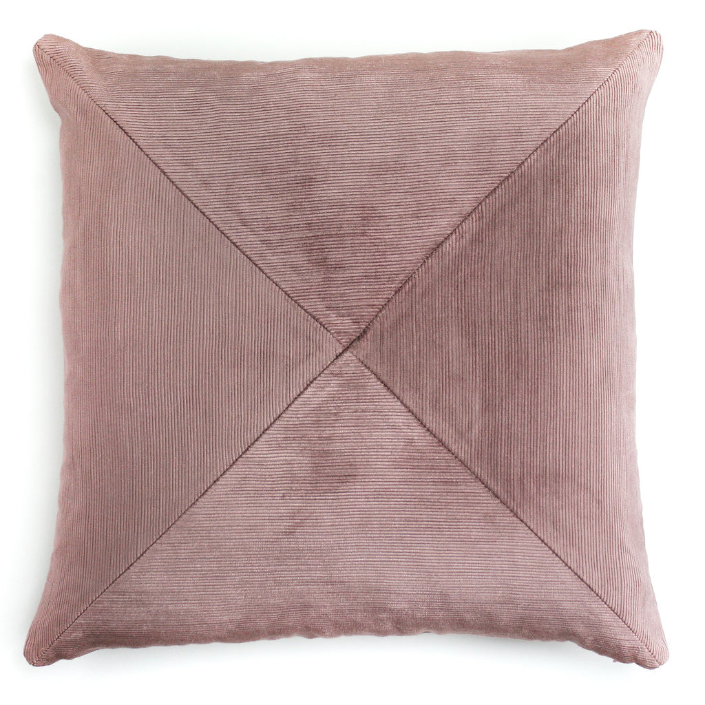 Corduroy Ribbed Velvet Pillow | LO Decor