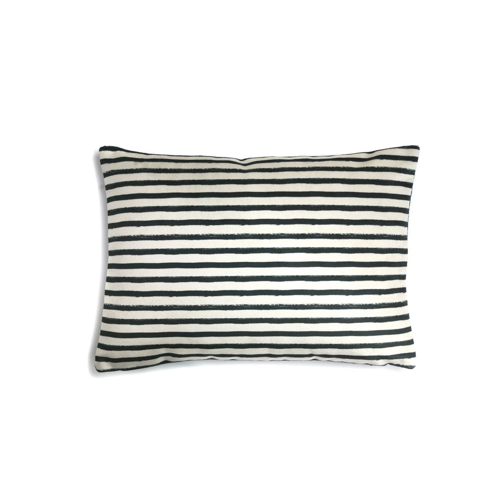 Stripe Micro Velvet Pillow | LO Decor