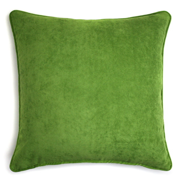Velvet Cushion Grass Green | LO Decor
