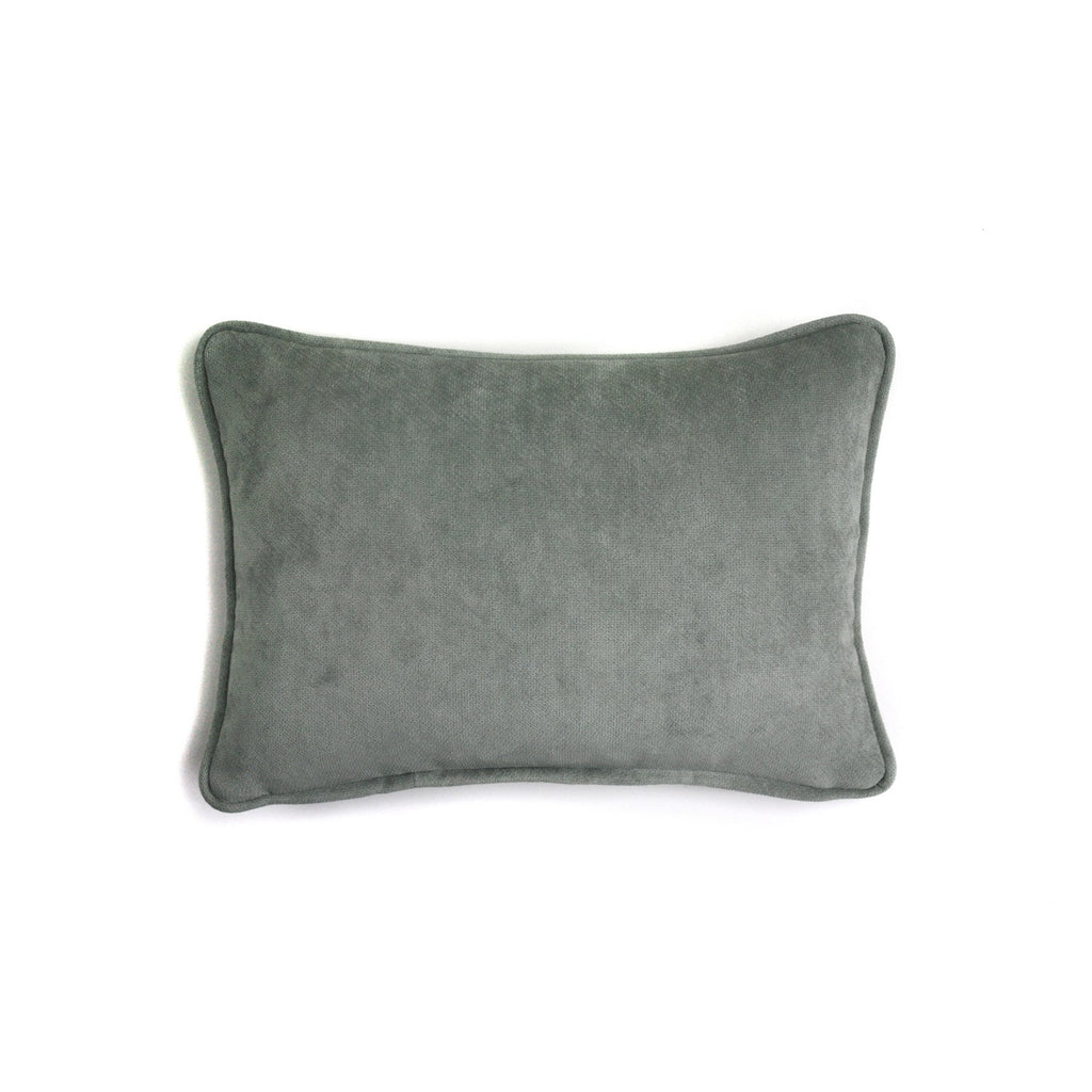 Velvet Cushion Light Grey | LO Decor