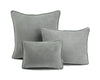Velvet Cushion - Light Grey