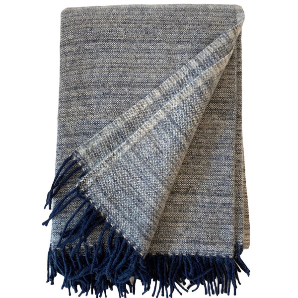 Alaska Throw - Dark Denim