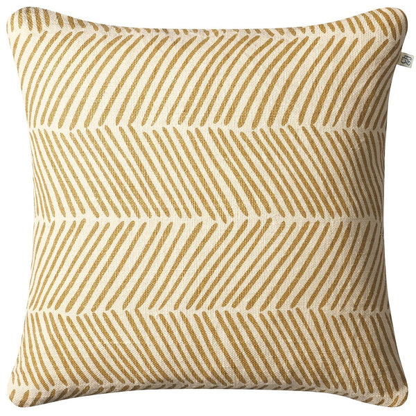 rama linen fishbone pillow