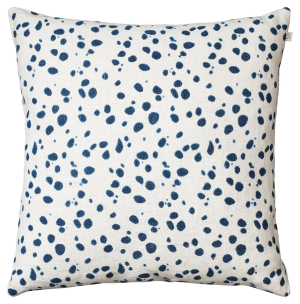 Tiger Dot Linen - White/Blue