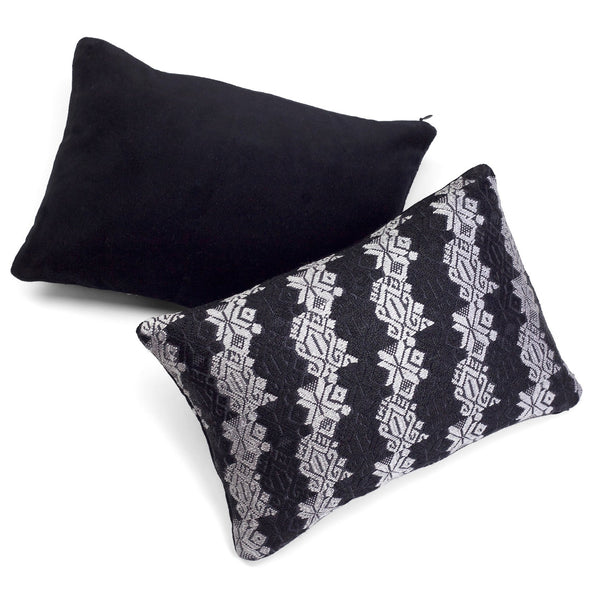 Coban Black Huipul Cushion