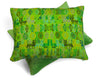 Coban Green Huipul Cushion
