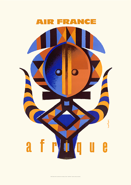 Poster - Air France Afrique