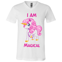 I am Magical Bella + Canvas Youth Short Sleeve V-Neck Jersey T-Shirt