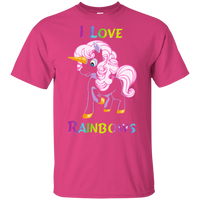 I Love Rainbows Gildan Youth Ultra Cotton T-Shirt