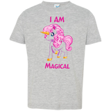 I am magical Rabbit Skins Toddler Jersey T-Shirt