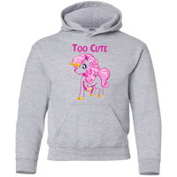 Too Cute Gildan youth pullover