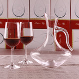 Bevel Spout Glass Decanter with Handle - WineProducts.net