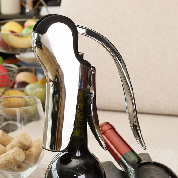 Professional Compact Corkscrew Wine Bottle Opener - WineProducts.net
