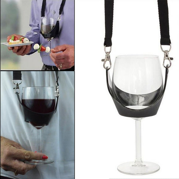 Portable Wine Glass Lanyard Holder Straps - WineProducts.net