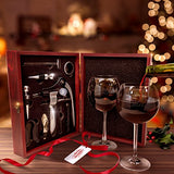Wine Opener Gift Set — Deluxe 9 Pieces Wine Tool Set - WineProducts.net