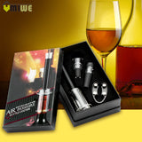 Air Pressure Red Wine Bottle Opener Gift Set - WineProducts.net
