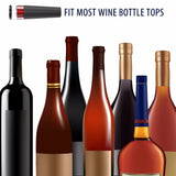 Aluminium Vacuum Wine Bottle Stopper All In One - WineProducts.net