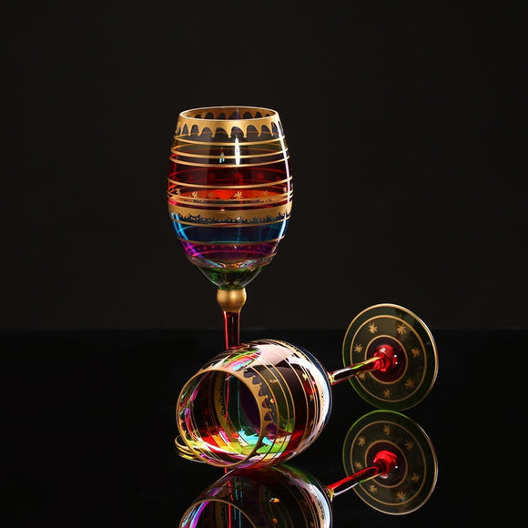 Beautifully Colored Wine Glasses - WineProducts.net