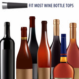 Air Tight Aluminium Vacuum Wine Bottle Stopper - WineProducts.net
