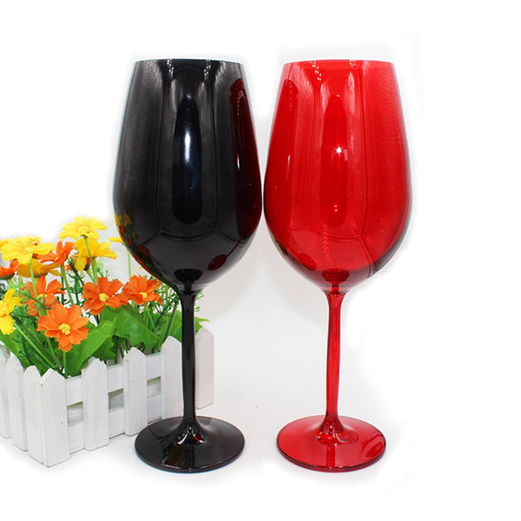 Crystal Glass Red and Black Wine Glasses - WineProducts.net