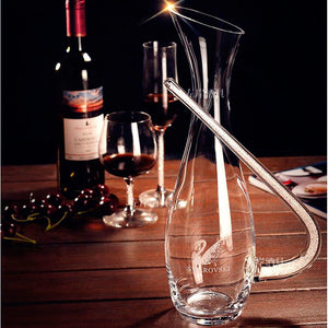 Crystal Diamond Red Wine Glass Decanter - WineProducts.net
