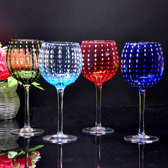 Crystal Glass Wine Glasses with Personality - WineProducts.net