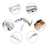 Multi-function Red Wine Corkscrew Bottle Opener And Foil Cutter - WineProducts.net