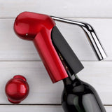 Zinc Alloy Power Wine Opener With Foil Cutter - WineProducts.net