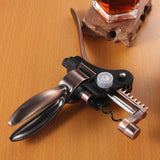 Professional Zinc Alloy Wine Opener Opener Set with Foil Cutter - WineProducts.net
