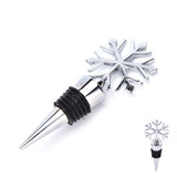 Snowflake Bottle Stopper Vacuum Sealed - WineProducts.net