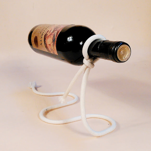 Suspended Iron Wine Rack Stand - WineProducts.net