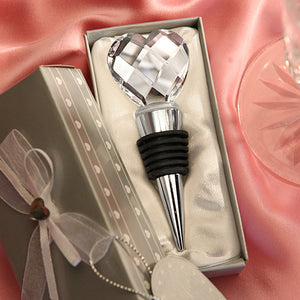 Crystal Diamond Wine Stopper - WineProducts.net